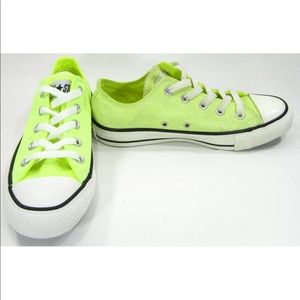 Converse shoes Chuck Taylor All Star Neon yellow 5